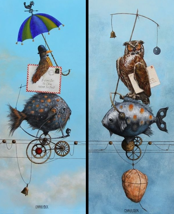 01-Newsletter-and-Grand-Duke-Catherine-Chauloux-Paintings-of-Surreal-Worlds-and-Characters-www-designstack-co