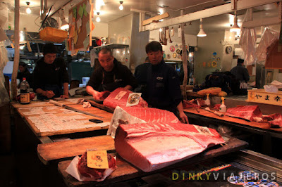 Mercado de Tsukiji (築地市場)
