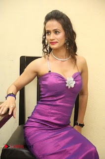 Chahat Pictures in Long Dress at Follow Follow U Trailer Launch ~ Bollywood and South Indian Cinema Actress Exclusive Picture Galleries