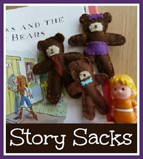 Goldilocks and the Three Bears story sack