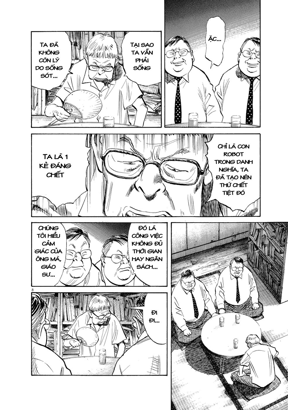 20th Century Boys chapter 224 trang 17