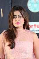 Nidhi Subbaiah Glamorous Pics in Transparent Peachy Gown at IIFA Utsavam Awards 2017  HD Exclusive Pics 06.JPG