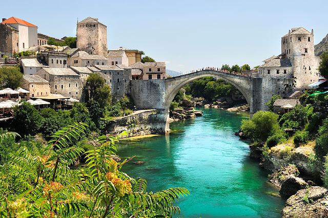 Bridge Stari Most Bosnia Erzegovina