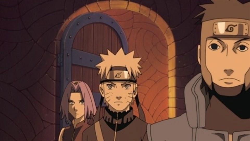 Sakura, Naruto y Yamato