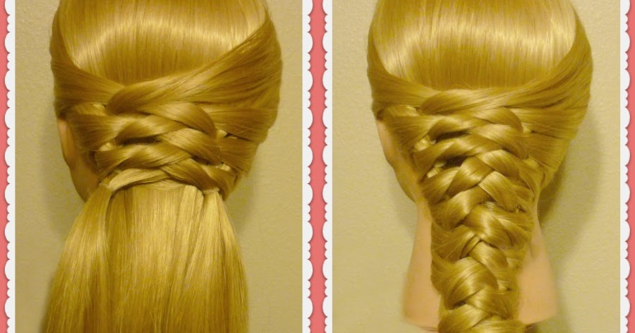 Zig Zag Woven Braid Tutorial Hairstyles For Girls