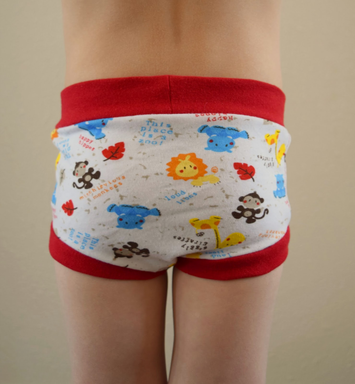Create Kids Couture: Free Pattern: Uriah's Training Underoos