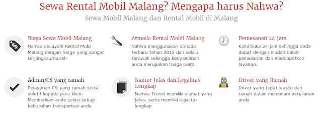 alasan Pilih Nahwa untuk Jasa Travel dan Rental Mobil di Malang
