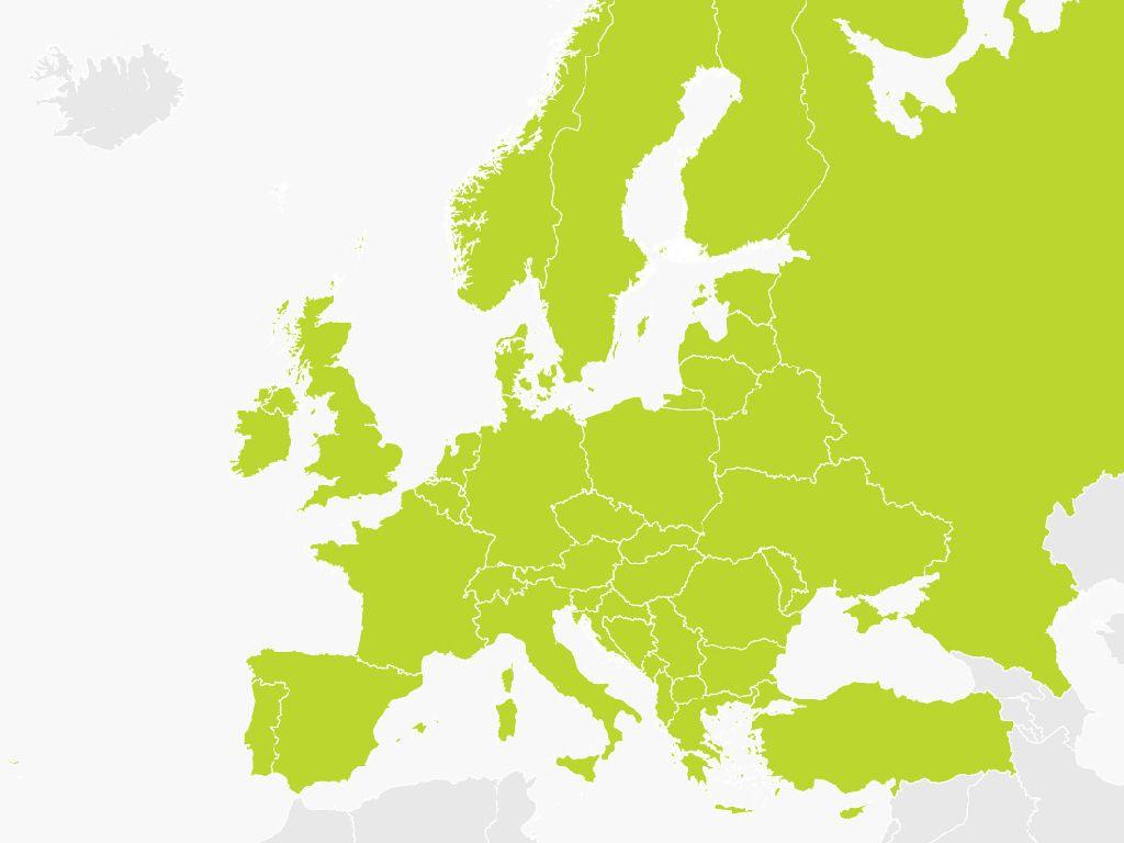 tom tom europe map