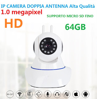 IP CAMERA DOPPIA ANTENNA