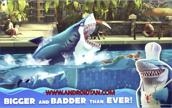 Hungry Shark World Mod Apk Data for Android
