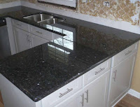 hasil dari pemasangan meja granit marmer