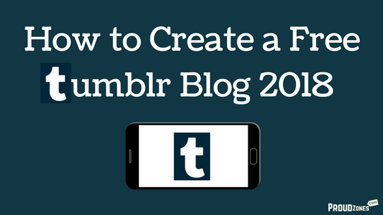 start new tumblr blog