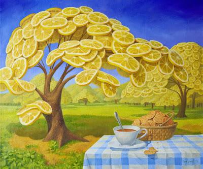 Arbol lleno de limones