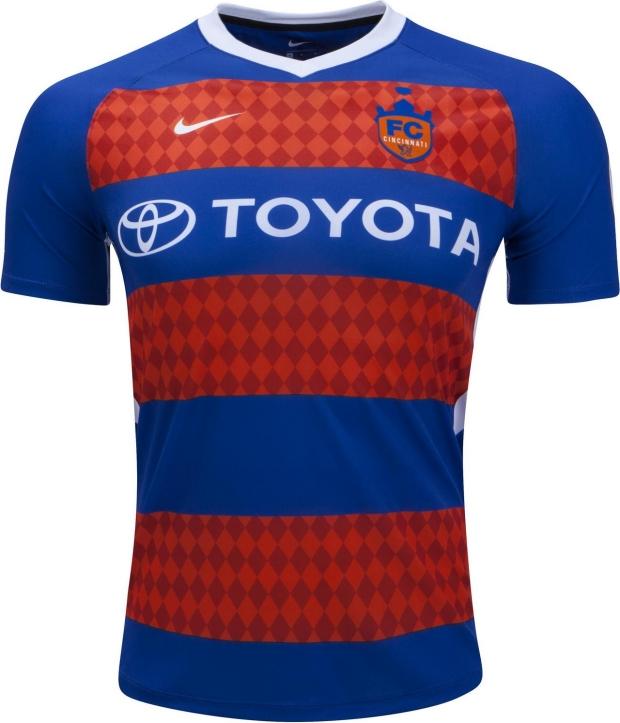 Nike lança as novas camisas do FC Cincinnati - Show de Camisas 792824f45bdf9