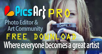 Download PicsArt Photo Studio Pro apk - Premium full version - for Android on DcFile.com