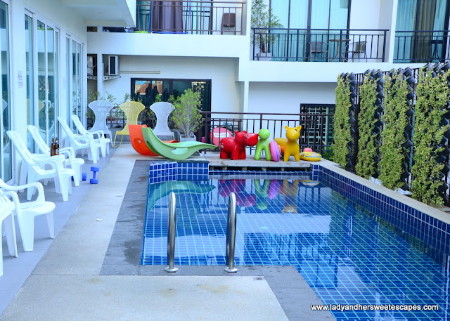 The Frutta Boutique swimming pool