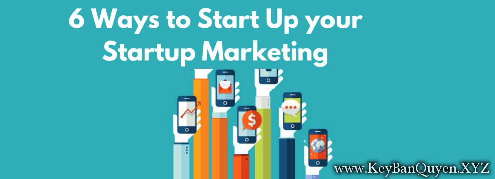 Video khóa học Xây dựng hệ thống marketing online cơ bản cho Startup 6 tháng đầu