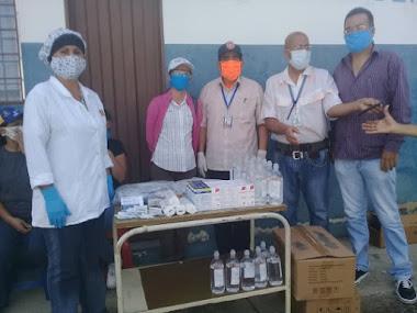 Ambulatorio II de San Onofre y hospital de Tucaní recibieron kits de protección individual