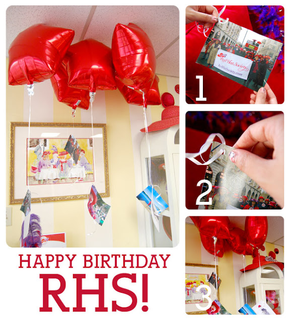 The Red Hat Society: 14th Birthday Celebration And Décor