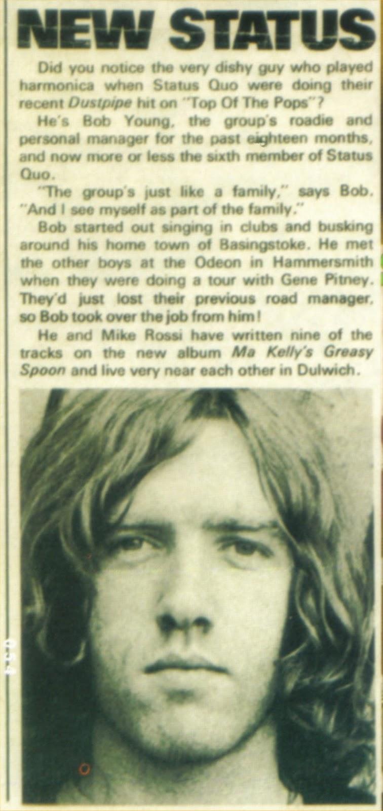 Rock On Vinyl Status Quo Golden Hour Of 1973