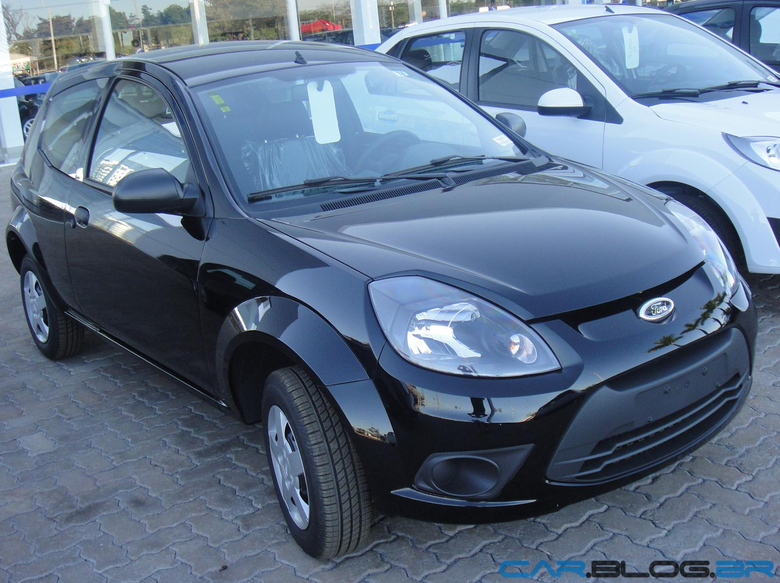 Ford Ka  Preto Ebony