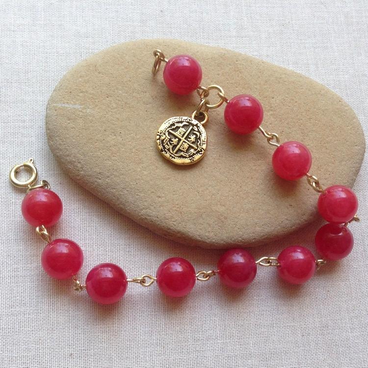 Lisa Yang S Jewelry Blog Rosary Style Bracelet 1 Step Looper Vs