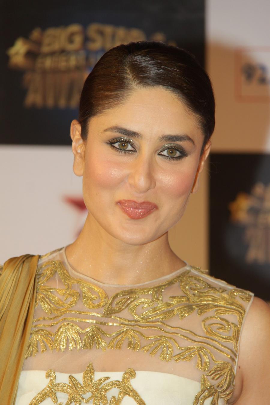 Kareena Kapoor In Brown Dress At Big Star Entertainment