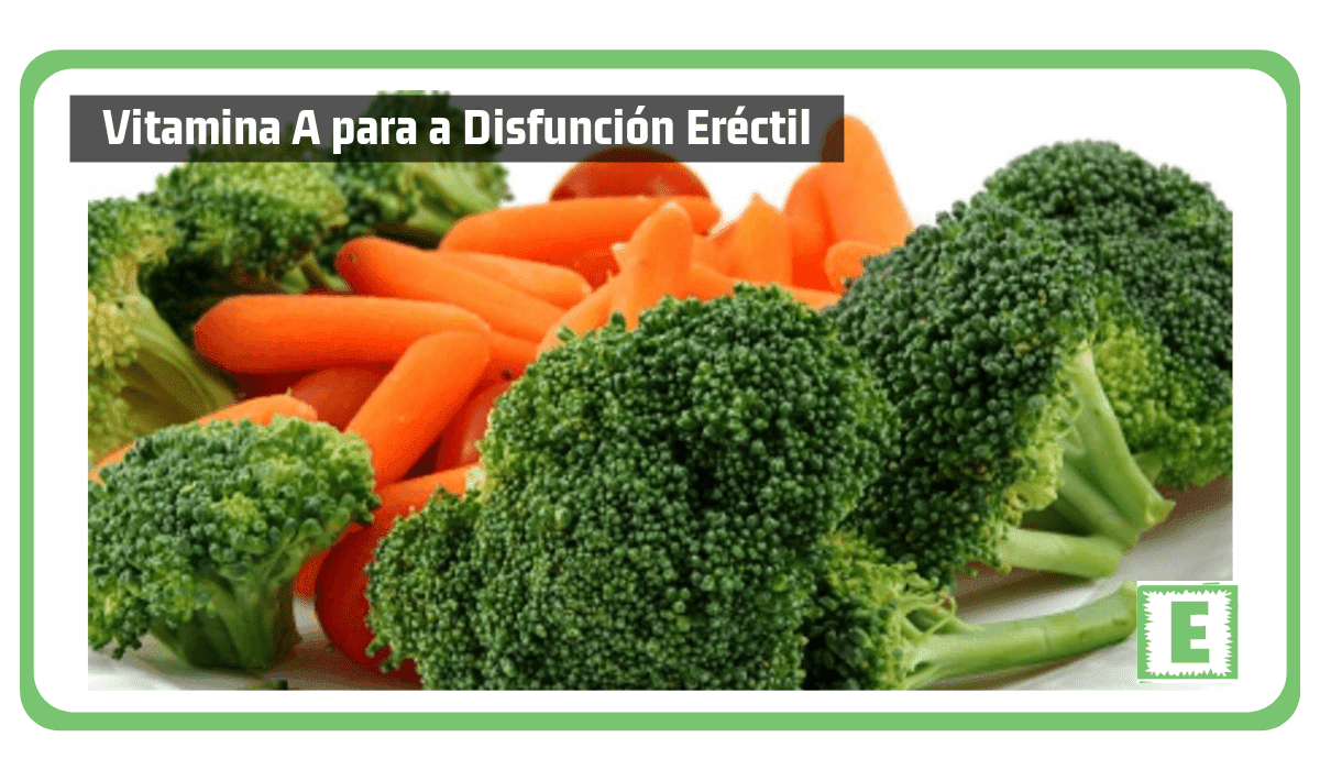 Vitamina A para a Disfunción Eréctil