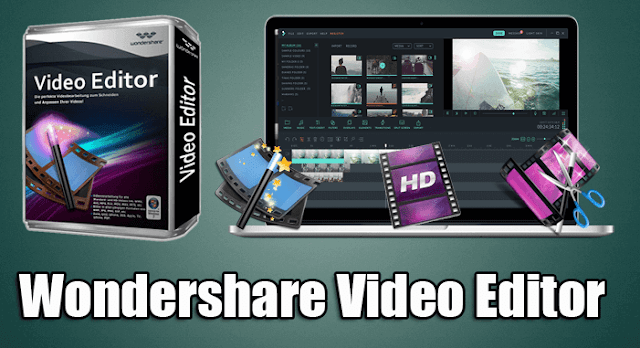 تحميل برنامج Wondershare Video Editor عربى
