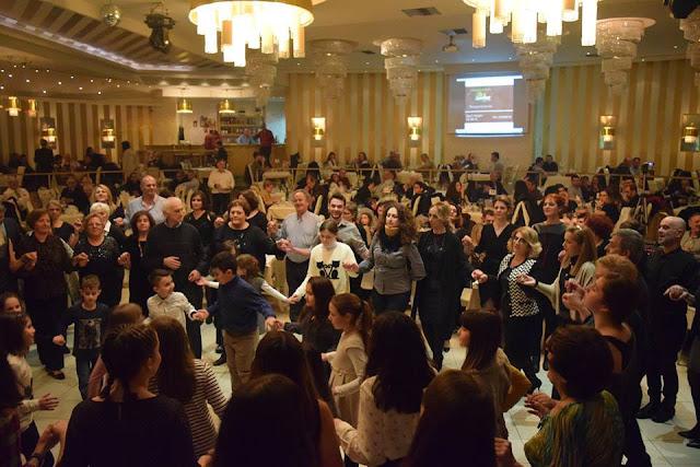 Με μεγάλη προσέλευση ο χορός της Ένωσης Ποντίων Πιερίας