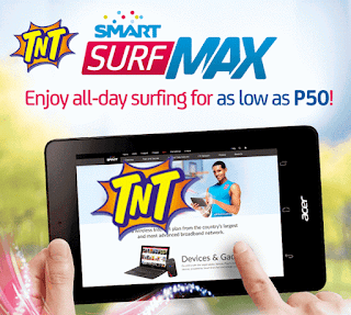 Talk N Text SurfMax Promo