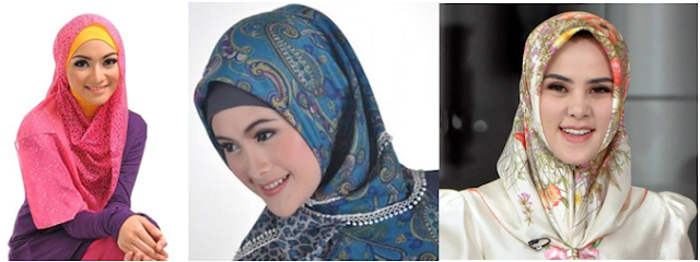 Model Jilbab Segitiga