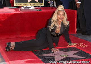Mary J. Blige Gets Star on Hollywood Walk Of Fame! 2