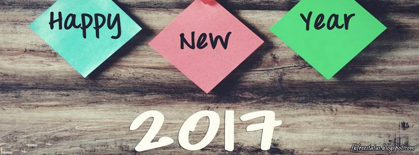 Happy New Year 2017 Facebook Cover Photos