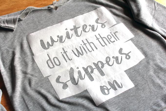 phrase sweatshirt graphic DIY www.archieandtherug.com