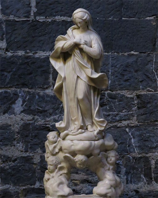 Immacolata by Pierre Puget (attributed), church of the Saints Cosma and Damian, Genoa
