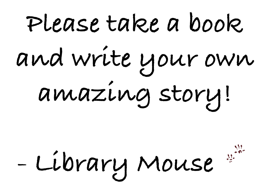Home Celebration: A Blog Of Comfort and Joy: Library Mouse