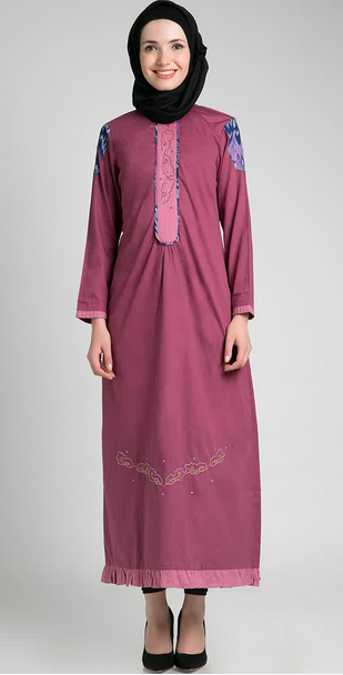 Model Baju Dress Muslim Gamis