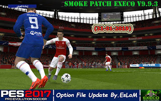 PES2017 SMoKE Patch EXECO V9.9.3 Option File Update 31-1-2019