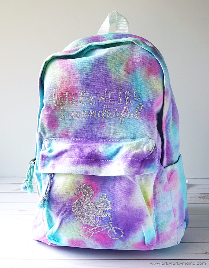 DIY Tie-Dye Backpack