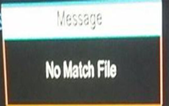 Full Method to Solve No Match File Error In 1506G All Recivers