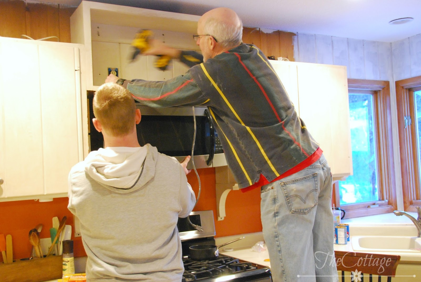 General Contractor Putting In A Kitchen Commercial Olympia Wa