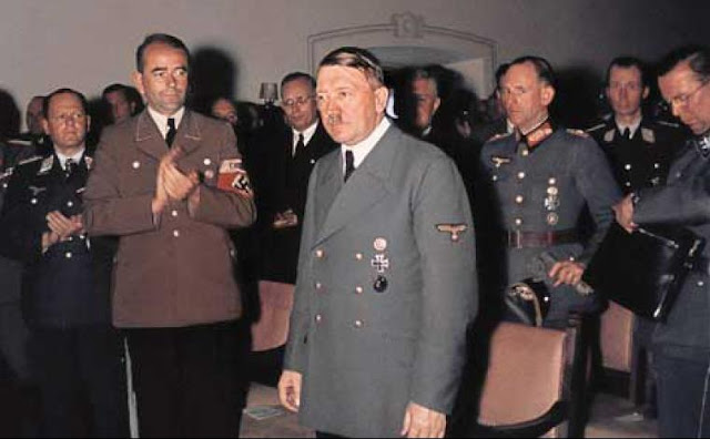 Albert Speer Adolf Hitler worldwartwo.filminspector.com