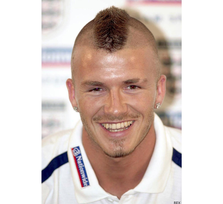 hairstyle & haircut: david beckham mohawk hairstyles gallery