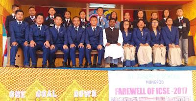St Joseph School mungpoo farewell