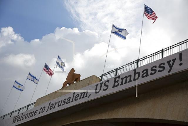 AS Gabungkan Konsulat Palestina dengan Kedubes Israel