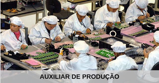 auxiliar de producao em curitiba