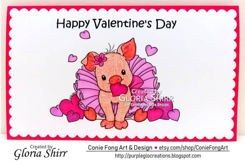 Featured Card at Crafty Catz Challenge Blog