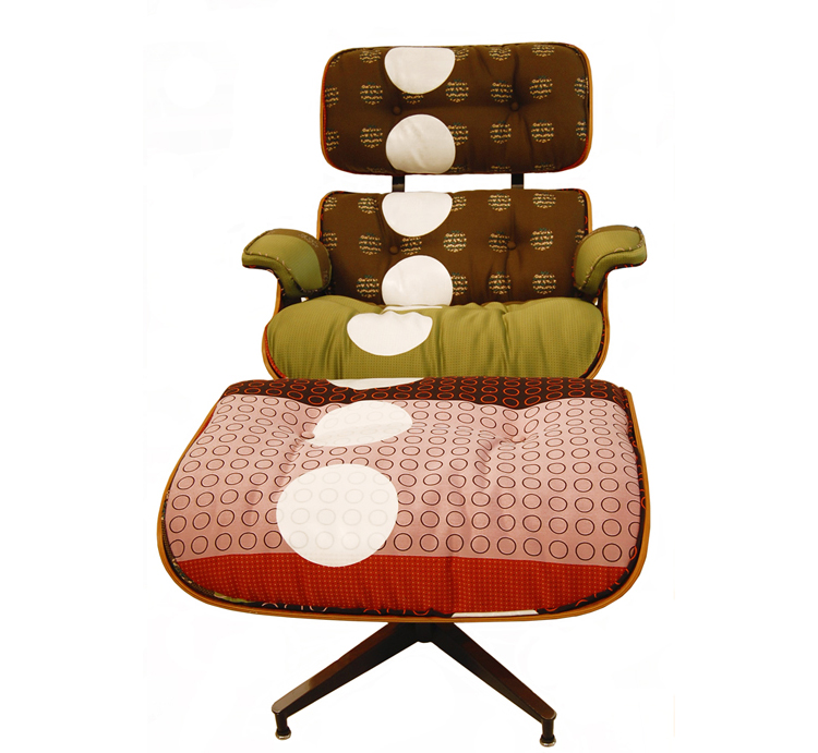 Vintage Eames Lounge Chairs And Ottomans Get Maharam Makeovers For Moss.