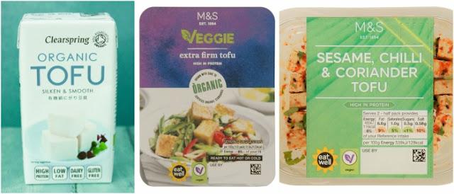 Tofu range at M&S